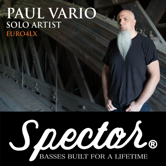 Paul Vario Music Spector Bass Artist